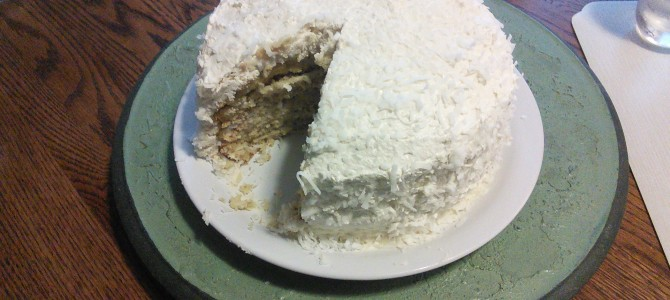 Coconut Cake, just because