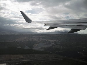 Leaving Quito for Home
