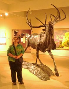 Me and an Elk