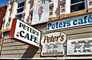 Peters Cafe Storefront