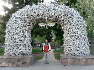 Rob with Jackson Hole Antler Arch