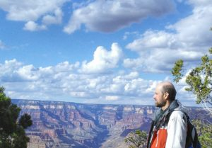 Grand Canyon view of Rob