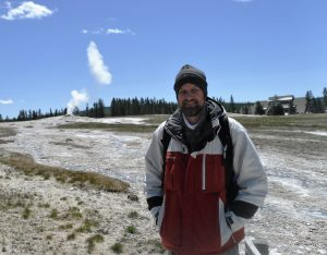 Rob at the Geysers