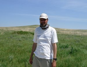 Rob in the field