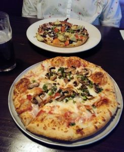 Old Chicago Taproom pizza
