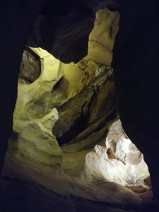Cave of the Winds ceiling